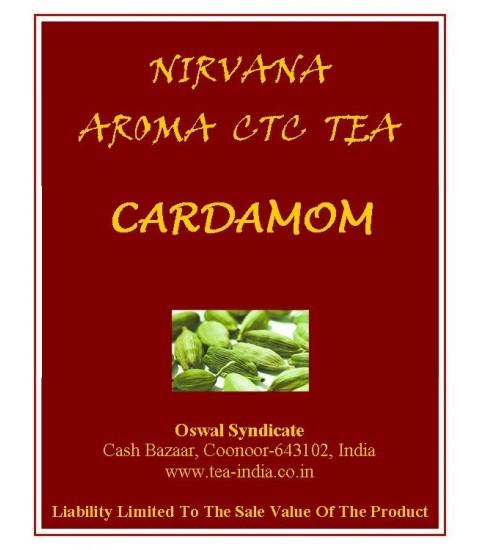 Nirvana Cardamom Black CTC Tea