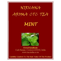 Nirvana Mint Black CTC Tea