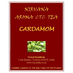 Nirvana Cardamom Black CTC Tea