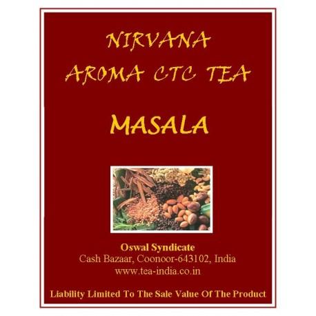 Nirvana Masala Black CTC Tea