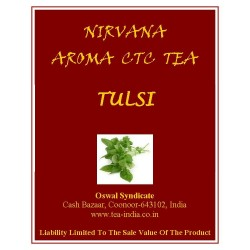 Nirvana Tulsi Black CTC Tea