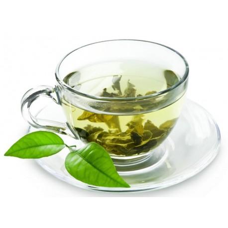 Spearmint green tea