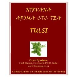 Nirvana Tulsi Black CTC Tea